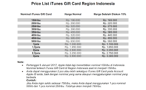 gift card reseller itunes gift card indonesia tukang gift card