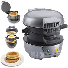 Breakfast Sandwich Toaster Breakfast Sandwich Maker Machine Ohgizmo