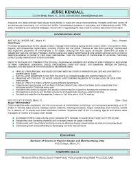 Merchandising Resume Examples by Fashion Merchandising Resume Resume Sample Retail Buyer Resume