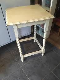 Gumtree Console Table Vintage Barley Twist Chalk Painted Console Table In