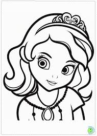 cinderella color pages kids coloring