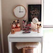 Ikea Malm Vanity Table Furniture Interesting Ikea Makeup Vanity For Your Bedroom