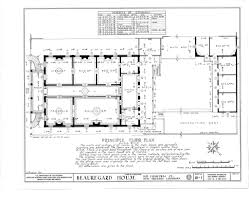 french colonial house plans floor plan for the beauregard keyes house splendid southern