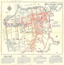 Map Of San Francisco by Market Street Railway Company Map Of San Francisco City W U2026 Flickr