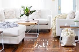 free chunky wool blanket pattern