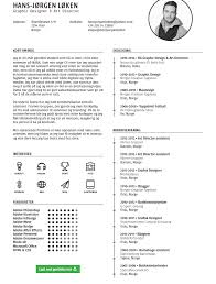 Best One Page Resume Template Free Creative Single Page Resume Template