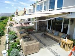 Simple Patio Ideas by Retractable Awning Patio Simple Patio Ideas With Retractable Patio
