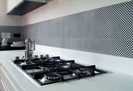 carrelage credence cuisine design une cracdence de avec mural