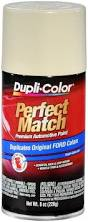 amazon com dupli color ebfm00417 wimbledon white ford perfect