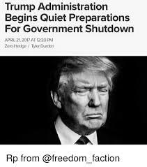 Tyler Durden Meme - trump administration begins quiet preparations for government