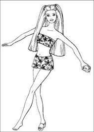 dance barbie coloring pages for kidsfree coloring pages for kids