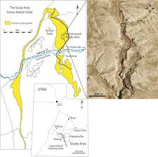 Delta Utah Map by Confluence Scours Versus Incised Valleys Examples From The