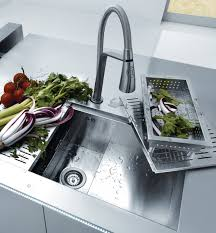 stainless steel countertop with built in sink stellar stainless steel sinks for seamless integration into worktops