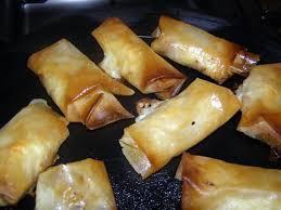 cuisiner des feuilles de brick recette de feuille de brick au poulet et fromage bleu