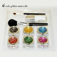 professional party diy temporary tattoo kit fairy glitter