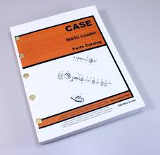 case w24c front end wheel loader parts manual catalog assembly