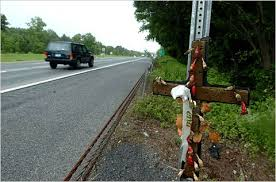 roadside crosses should roadside memorials be banned the new york times