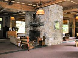 impeccable sided gas fireplace room divider design then vertical
