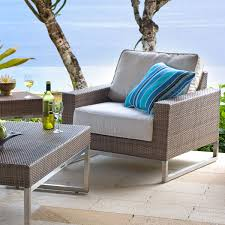 wicker club chair palms collection thos baker