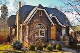 Craftsman House Style French Tudor Homes Craftsman Two Toned Brick With An Enclosed
