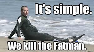 Val Kilmer Batman Meme - it s simple we kill the fatman val kilmer diet plan quickmeme
