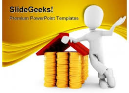 3d man saving money u0027 powerpoint templates ppt slides images
