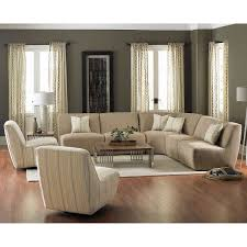 Pillows For Brown Sofa by Fabric Sofas U0026 Sectionals Costco