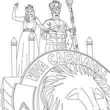 rio carnival samba parade coloring pages hellokids