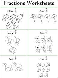 fraction worksheet 2nd grade worksheets