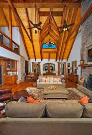 log home interior pictures custom timber log homes great room