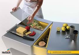 accordion folding kitchen table transforms like a fan home