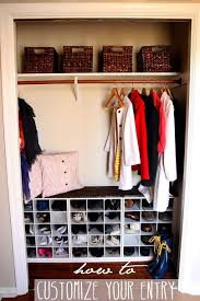 Storage Solutions For Shoes In Entryway Best 25 Coat Closet Organization Ideas On Pinterest Entry