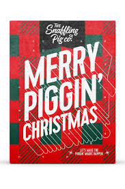 advent calendar snaffling pig pork crackling advent calendar the snaffling pig co