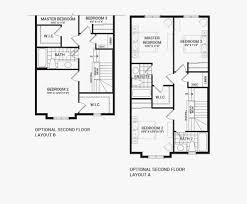 Second Empire Floor Plans Quinn U0027s Pointe The Carmel Townhomes U2013 Ottawa South Minto
