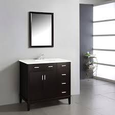 36 Inch Bathroom Vanities Wyndenhall Oxford Dark Espresso Brown 2 Door 36 Inch Bath Vanity