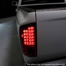 2003 dodge ram tail lights 05 dodge ram pickup euro led tail lights black smoked