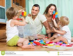 happy family in home interior stock photo image 43721878