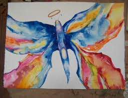 how to flatten a large water color painting shanti marie helps