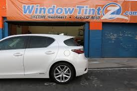 lexus repair van nuys window tint for lexus ct200 windowtintz com