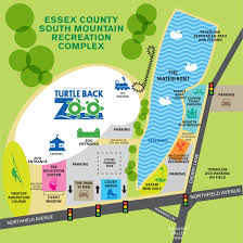 National Zoo Map The Waterfront South Mountain Recreation Complex Essex County