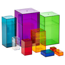 small plastic boxes small clear amac boxes the container store