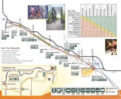 Midland Michigan Map by Pere Marquete Rail Trail Map