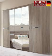 german anna montana oak bedroom 225cm wardrobe fitment with