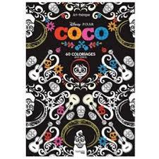 Coco  60 coloriages antistress  Bloc Disney Coco  JeanLuc