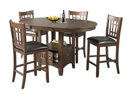 elements international max casual counter height table set