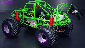 lexus monster truck grave digger monster truck 3d model in suv3dexport
