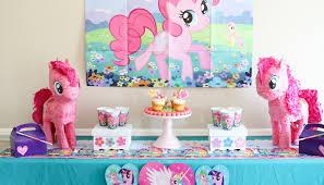 my pony centerpieces my pony party