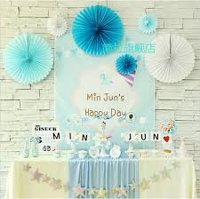 cheap paper fans new 3pcs lot 12 inch 30cm tissue paper fan decoration wedding