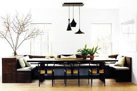 Minimalist Dining Room Camille Styles - Dining room with couch