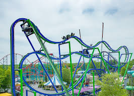 Six Flags Ad The Joker 4d Free Fly Coaster Six Flags New England